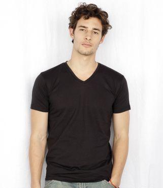 SF256 Skinnifitmen Fineweight V Neck T-Shirt